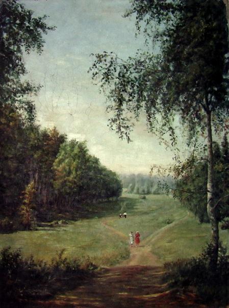 картина старинная соцреализм маслом на холсте неизвестный художник