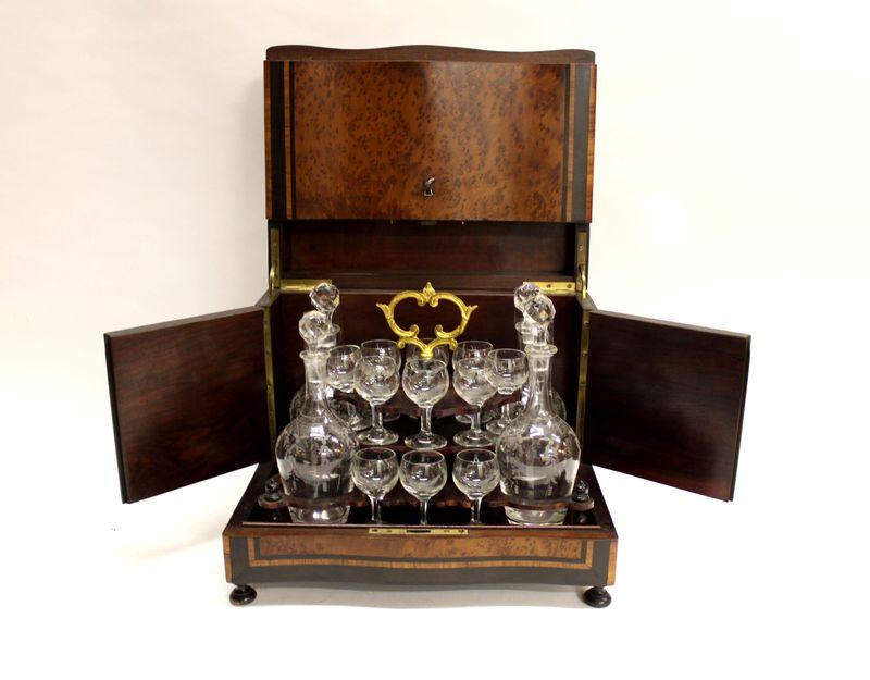 ликерница набор в коробке ключ 19 век 27 на 32 на 24 см, старт 140