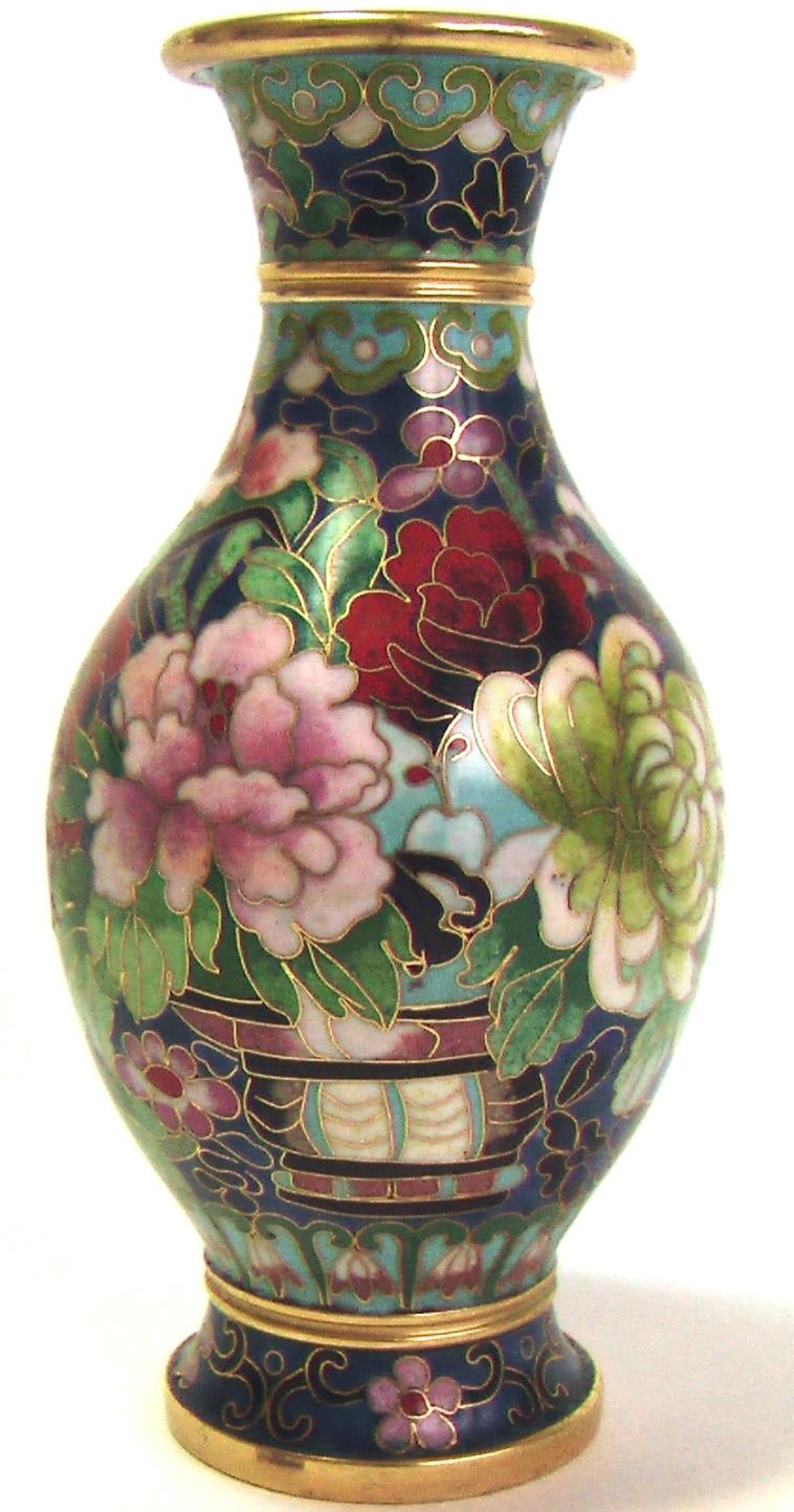 милефлиори ваза клуазоне горячие эмали купить антиквариат