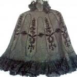 накидка черная кружевная продажа антиквариата текстиль кружево