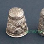 наперсток коллекционный золотой XVII век серебряные наперстки