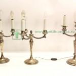 подсвечники адаптированные на 3 свечи 35см 2,6 кг старт 600 евро