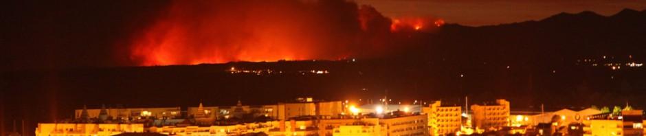 пожары в Испании лето 2012