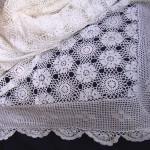покрывало старинное вязаное 230 на 250 см