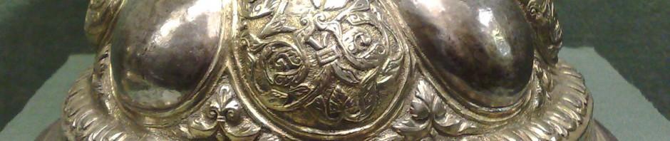 потир серебряный чеканка