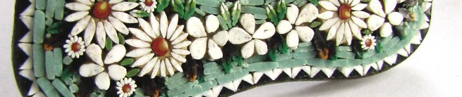 смальта рамка для фото, римская флорентийская мозаика милефлиори