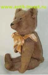ранний немецкий плюшевый медведь мишка тедди Teddy да - нет Schuco высота 30 см 12''