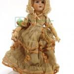 редкая старинная кукла франция Armand голова фарфор артикуляционный корпус на шарнирах 40 см около 1900 года