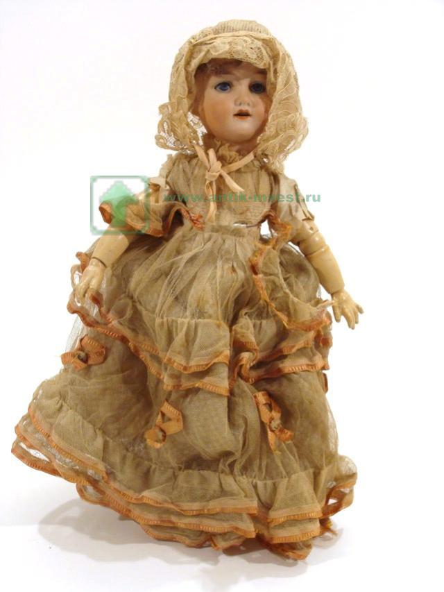 doll купить куклу редкая старинная кукла франция Armand голова фарфор артикуляционный корпус на шарнирах 40 см около 1900 года