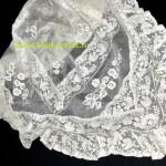 салфетка с валенсийской вышивкой 96 на 96 см