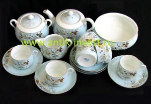 кузнецовский чайный фарфоровый сервиз