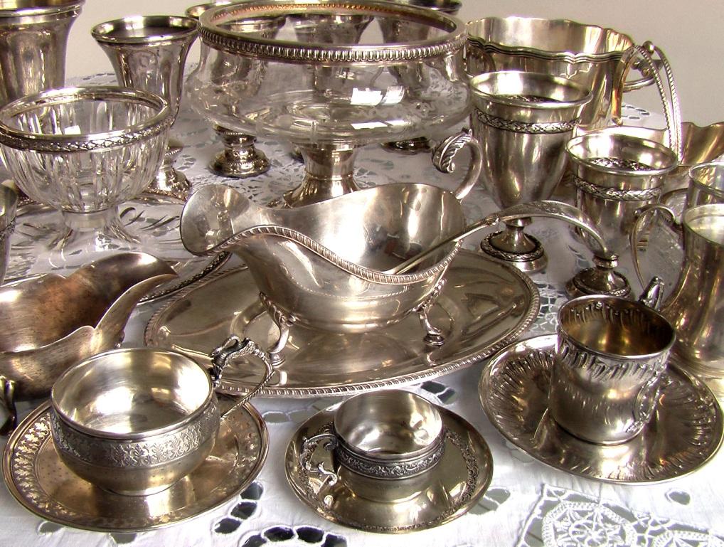 серебро и серебрение