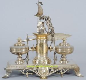 серебряная чернильница купить продать антиквариат antik-invest