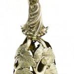 серебряный коллекционный колокольчик 34 гр 15 см интернет аукцион антиквариата торги