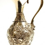 серебряный кувшин для вина воды вес 507 грамм интернет аукцион антиквариата
