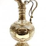 серебряный кувшин для вина воды вес 675 грамм интернет аукцион антиквариата