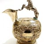 серебряный кувшин для вина или воды вес 400 грамм интернет аукцион антиквариата