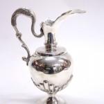 серебряный кувшин с ручкой 390 грамм высота 24 см