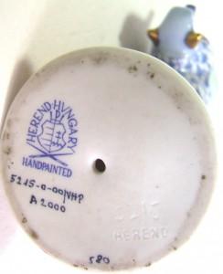 HEREND hungary porcelain manufactory венгрия херендский фарфор фабрика