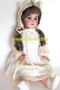 antik-invest старинная антикварная кукла BEBE JUMEAU SFBJ молд 301 где купить куклу
