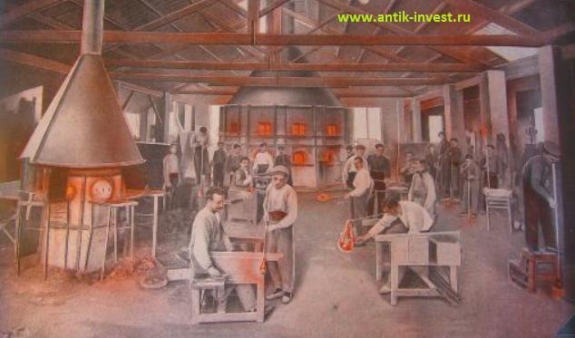 По производству стеклянной посуды