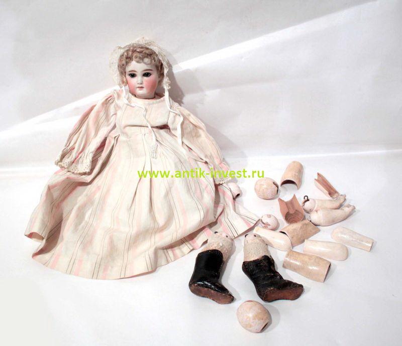 старинная кукла под реставрацию возможно Belton
