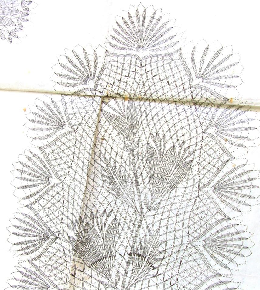 старинная схема вязки крючком скатерти 3. старинная бесплатная схема вязания крючком скатерти.