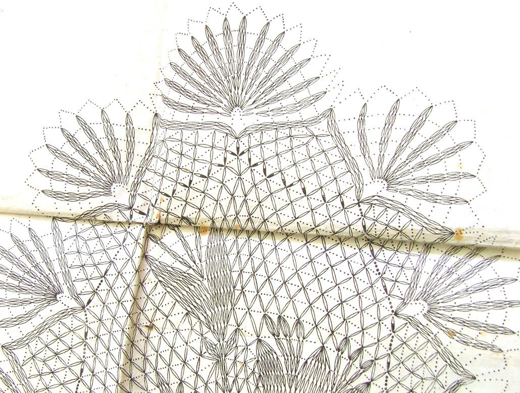 вязание крючком скатертей журнал анна