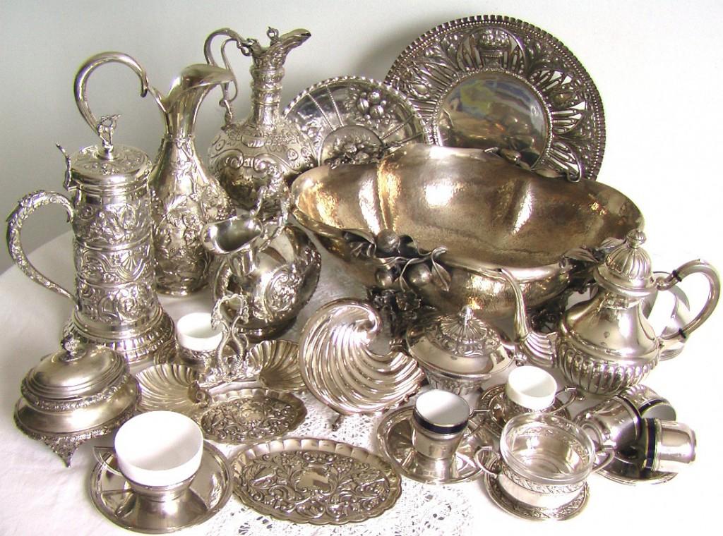 тезаврация старинное столовое серебро 19-20 век оценить купить продать серебро