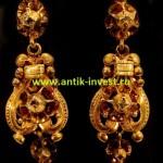 старинные золотые ювелирные украшения первой трети 19 века
