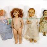 старинные куклы коллекционные лот 4шт 45 см