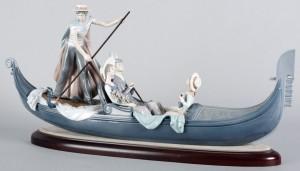 статуэтка LLADRO Венеция скульптор Vapolá художник J. Ruíz