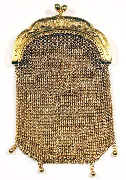 сумка золотая из золота 18К 83 гр интернет аукцион антиквариата торги