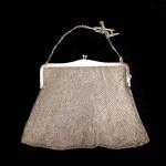 сумочка дамская серебряная 800 пробы 18 на 17 см, старт 95 евро