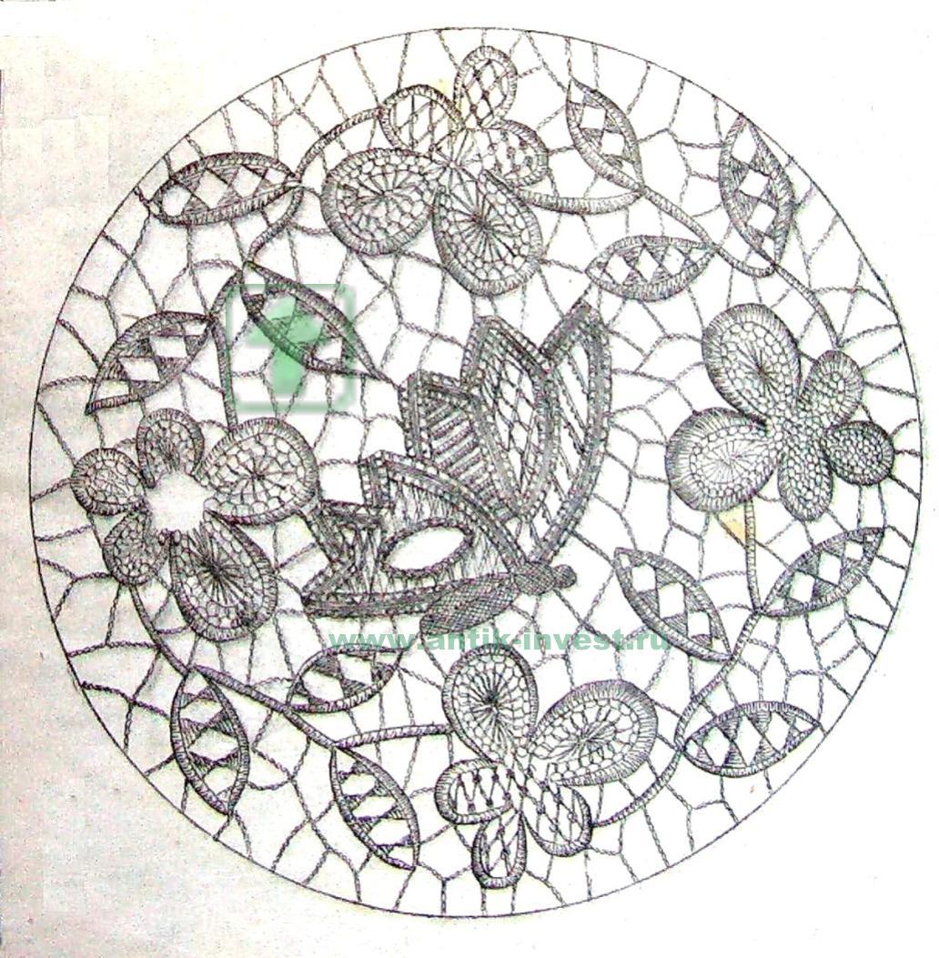 Схемы для плетения коклюшек