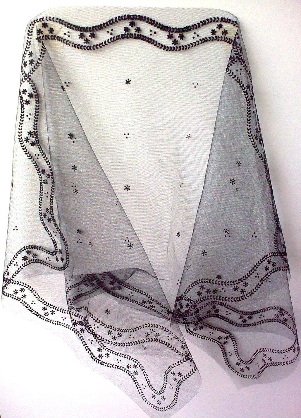 ПРИДАННОЕ МАРКИЗЫ испанский платок шарф кружева