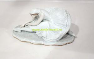 фарфоровая статуэтка балерина Rosenthal 14 на 28 на 12 см