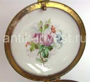 купить продать фарфор фабрики Севр Sevres porcelain box