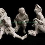 фарфоровые жанровые статуэтки мальчики 24см старт 120 евро