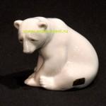 фарфоровый полярный медведь LLADRO 9 на 10 см