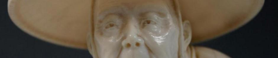 фигурка резьба по кости япония эпоха Мейдзи Meiji как отличить кость от подделки