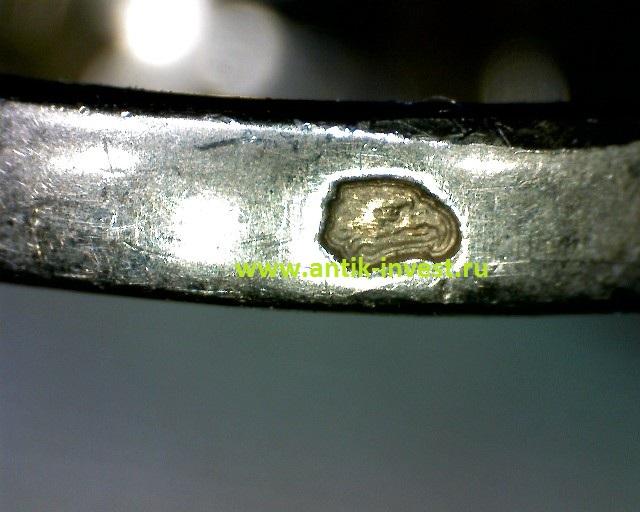 французское клеймо кольцо голова орла