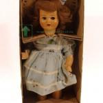 ходящая кукла из композита механизм на веревке одежда и коробка оригинальные 48 см