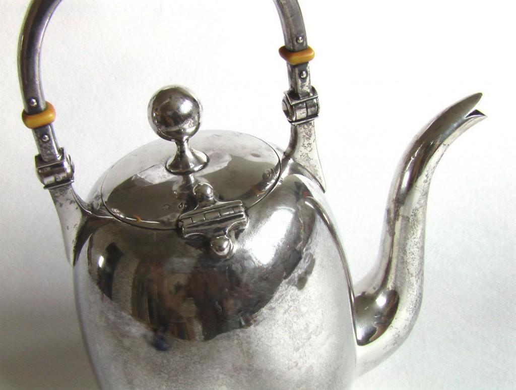 чайник из серебра сервиз серебряный