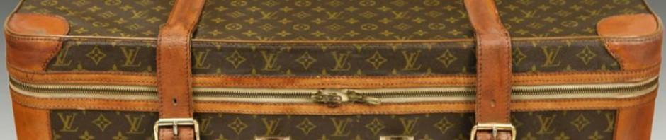чемодан винтажный LOUIS VUITTON 1950-ые года купить винтаж