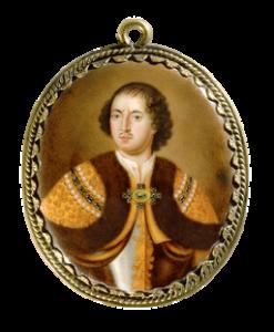 Портрет царя Петра Алексеевича джосиас барбетт 17 век