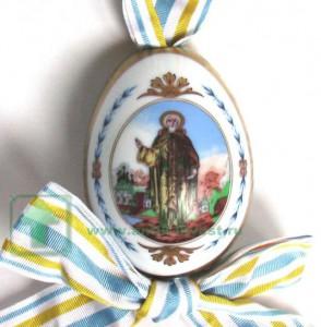 Яйцо пасхальное фарфоровое, ИФЗ Императорский фарфоровый завод, Россия II-я половина XIX века