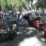 французский типичный блошиный рынок