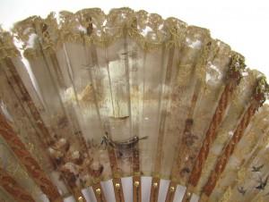 реставрация старинный настенных вееров