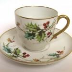 кофейная пара фарфоровая европа 19 век